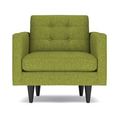Totally hip and mod, the Lexington Collection is a fantastically stylish, contemporary take on a classic design. The button tufted cushioning and unique wooden legs give it a mid-century modern look.