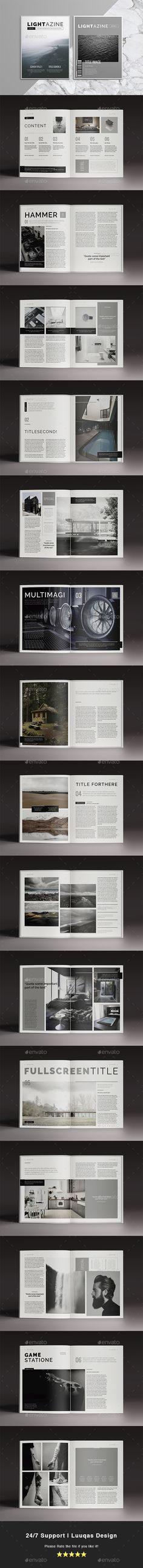 Lightazine Indesign Template - Magazines Print Templates Download here : https://graphicriver.net/item/lightazine-indesign-template/18343442?s_rank=86&ref=Al-fatih