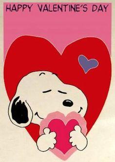 Happy Valentine's Day Snoopy