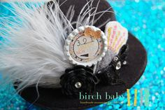 Cute New Years Party Hat! Perfect accessory for that little black dress! A Must Have!
