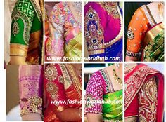 100 Blouse Patterns Mind blowing!  What ever is the type of saree whether it is kanchipuram,uppada pattu,silk saree, chiffon,georgette,60 grams saree it is the blouse which gives you ar…