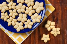 Make delightful shaped cookies with this spritz cookie recipe!