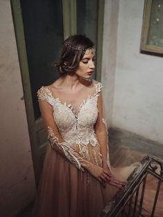Romantic Tulle, Long Dress, Luxury Collection Tulle, Romantic, Luxury, Formal, Wedding Dresses, Collection, Fashion, Preppy, Bride Dresses