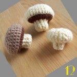 Tuto: La dinette en crochet #12 Les champignons