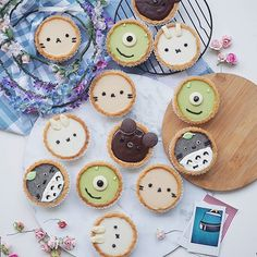 Just a reminder that my tarts are at @thepicnicburwood every weekend from 8:30! I will have black sesame totoro, matcha Mike, nutella piggy , earl grey kitty and coconut miffy And if you're wondering, the matcha I use for my tarts is from @zenwonders_matcha !! #annachaannntarts #cutefood #foodshare #zomato #matcha