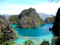 Coron Group of Islands in the Philippines