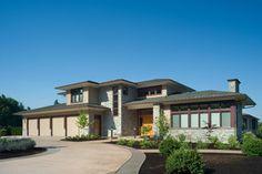 Chou Residence - contemporary - exterior - portland - by Alan Mascord Design Associates Inc