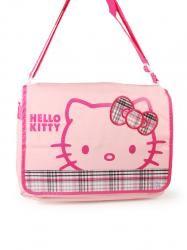 Hello Kitty Messenger   Shoulder Bag - Large - Check L Pink Price  £32.99 3e4166afe98a9