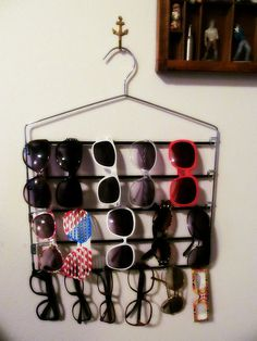 Sunglasses Storage - Why didn't I think of this?!