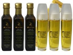 Arganový olej přímo z Maroka - sada Argan Oil, Whiskey Bottle, Personal Care, Drinks, Beauty, Beleza, Drink, Beverage, Drinking