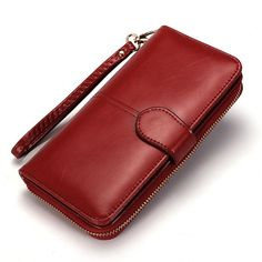 Women Long Wallet Leather  Price: 12.79 & FREE Shipping  https://accessorion.com/product/women-long-wallet-leather/ #accessory