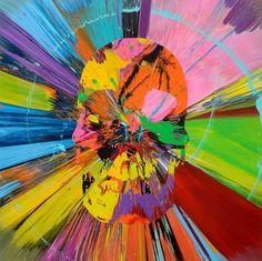 Damien Hirst's work