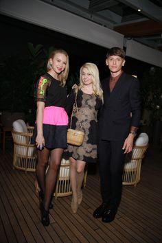 Angelika Timanina, Yana Rudkovskaya and Vlad Lisovetz