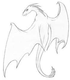 dragon dragons drawing drawings pencil easy draw cool simple sketches sketch mythical things scary reference chinese realistic flying creatures getdrawings