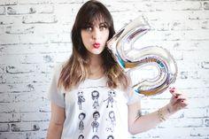 http://melinasouza.com/2015/08/04/chico-rei-em-5-fatos-sobre-mim  Melina Souza - Serendipity <3  T-Shirt: Chico Rey