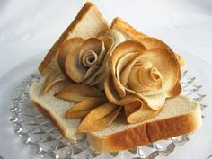 Food Design Bread Art and This Amazing Food Design Blow Your Mind Food Design, Cute Food, Good Food, Bread And Roses, No Rise Bread, Bread Art, Edible Art, How To Make Bread, Creative Food