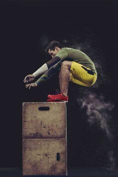 Crossfit Games 2014 box jump