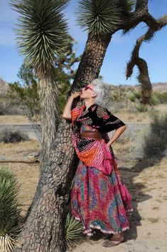 She is so awesome!  A definite Style Inspiration.  ~~  Sarah Jane Adams, Joshua Tree Part II