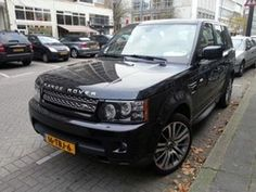 photo of Raymond Van Barneveld Range Rover - car