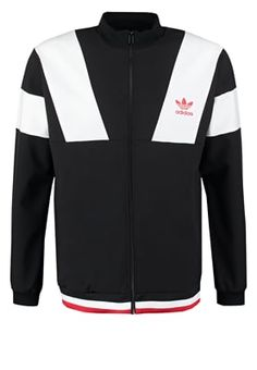 adidas Originals Trainingsjacke - black - Zalando.de