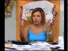 PINTAR SOBRE TELA. PARTE 1.-    Pintura en Tela-navidad 1 Detalles Magicos con Mimi Luna,www.tremendalun...