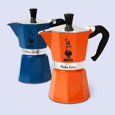Stovetop espresso, the old fashioned way, in a low-tech Bialetti Moka Express--now in four cheery colors. | thisoldhouse.com