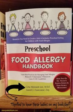 Preschool food allergy has all the info you need.