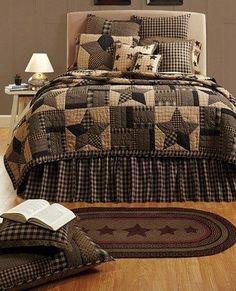 Bingham Star Luxury King Quilt – Primitive Star Quilt Shop