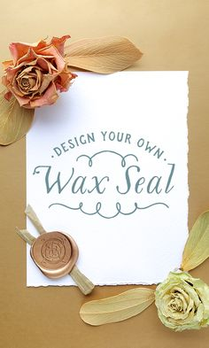 On the Creative Market Blog - How to Design a Wax Seal From Scratch