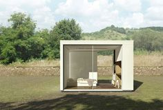 California company, Cover, uses computer algorithms to build prefabricated tiny homes that are 80% more efficient than conventional homes
