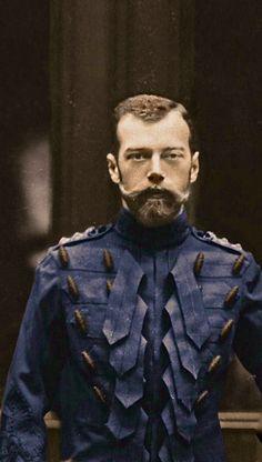 Tsar Nicholas II, at Balmoral Castle, Scotland.