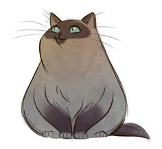 Иллюстратор Daily Cat Drawings