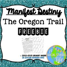 Oregon Trail Map: The Wagon Train of 1843