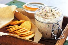 The only problem with this tasty, low-fat dip is that once you start eating it, it is hard to share with the other guests.