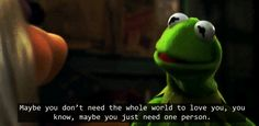 Every day, he says a little something that makes you fall in love all over again. | 17 Signs You've Found THE ONE As Told By Miss Piggy