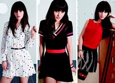 Zooey Deschanel crée une mini collection de robes pour Tommy Hilfiger zooey