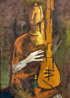 Untitled by M.F. Husain