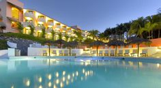 Grand Palladium Vallarta Resort & Spa Punta Mita This impressive resort is located on a private beach on Banderas Bay, 40 minutes' drive from Puerto Vallarta. It offers a spa and 4 outdoor pools, including an infinity pool.
