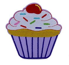 Sexy Cupcake 2 Broke Girls Patch Iron on Applique Alternative Clothing  #hat #anime #patch #gothic #rockabilly