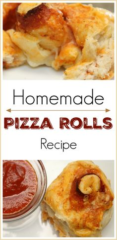 Homemade Pizza Rolls ~ Great Snack Or Delicious Lunch!