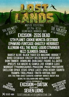 """Excision Drops Lineup For First Ever Festival, """"Lost Lands"""" 