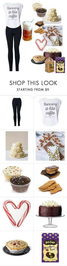 """Bakery owner🎂🍰"" by varshak1923 ❤ liked on Polyvore featuring Dorothy Perkins, Kelly Wearstler, Draper James and LSA International"