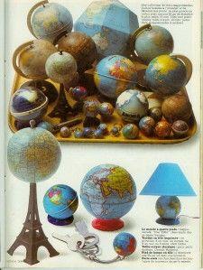 100 idées....Globes !