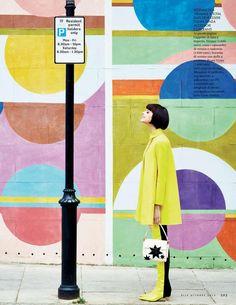 """Swinging London"" by Michael Sanders for ELLE Italia October 2015"