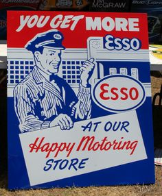 esso signs | Signs like the Esso example are a great window into what 'motoring ...