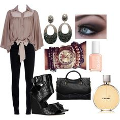 classic cute, created by eruckr on Polyvore