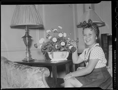 Shirley Temple in her suite at the Ritz Carlton. 1938. Boston Public Library via Flickr.