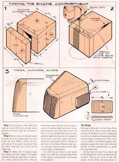 Woody Wagon Plans - Wooden Toy Plans