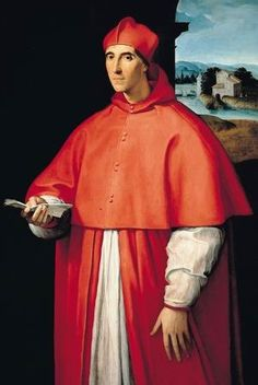 Portrait of Cardinal Alessandro Farnese, Raphael. Museo di Capodimonte, Naples  #TuscanyAgriturismoGiratola