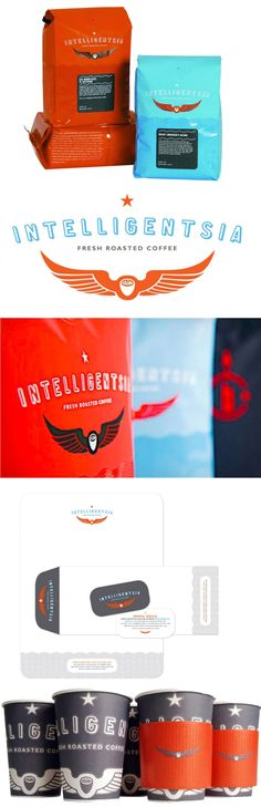 Intelligentsia #coffee #packaging and #branding by Planet Propaganda. It's time for coffee PD